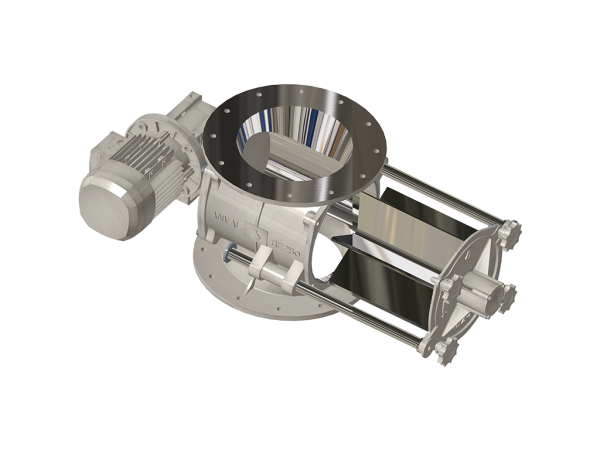 EASY-CLEAN ROTARY AIRLOCK VALVES FOR HYGIENIC DAIRY APPLICATIONS: RE SERIES